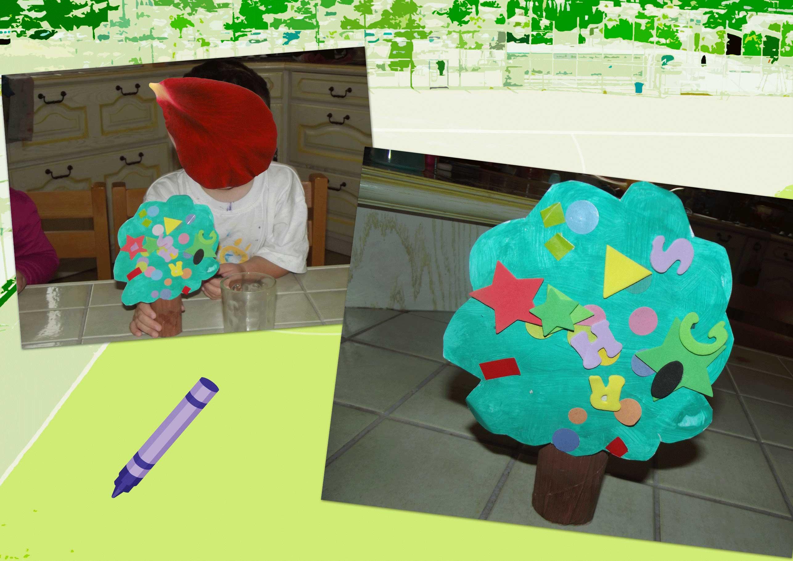 Activite automne page 2 - Arbre rouleau papier toilette ...